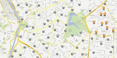 Mapa do Bike Sampa